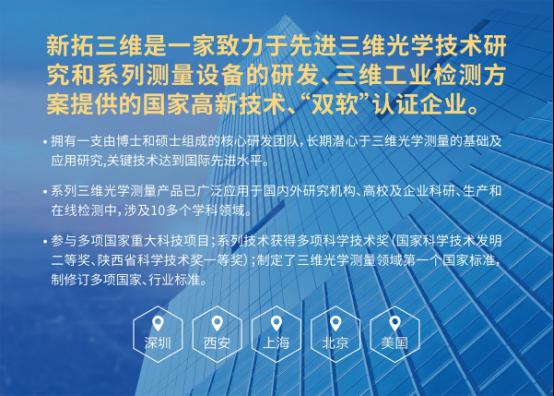 """瞄準千億工業視覺産業,新拓三維助力中國制造美麗""""蛻變"""""""